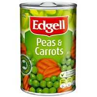 Edgell Mixed Vegetable Peas & Corrots