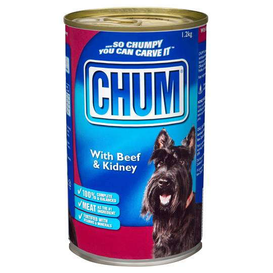 Chum Adult Dog Food Beef & Kidney