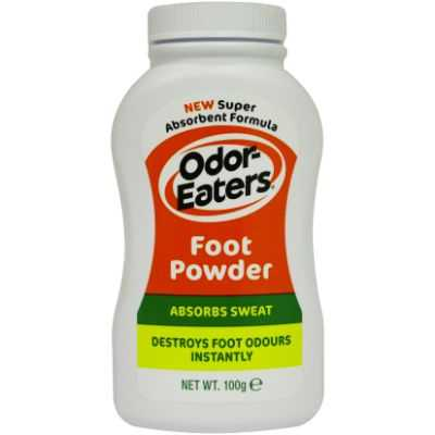 Odor Eaters Shoe Care Foot Powder