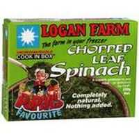 Logan Farms Chopped Spinach Portions