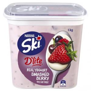 Ski D'lite Smashed Berry Yoghurt