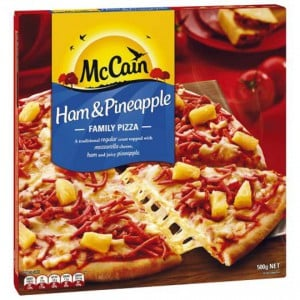 Mccain Pizza Ham & Pineapple