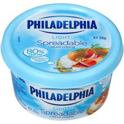 Kraft Lite Philadelphia Spreadable Tub