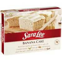 Sara Lee Butter Cake Banana