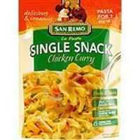 San Remo La Pasta Chicken Curry Single Snack