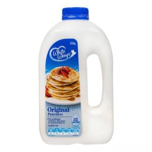 White Wings Pancake Mix Panjacks Original Shaker