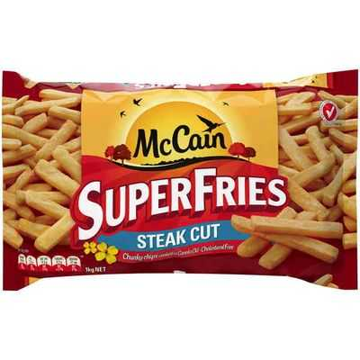 Mccain Chunky Cut Superfries
