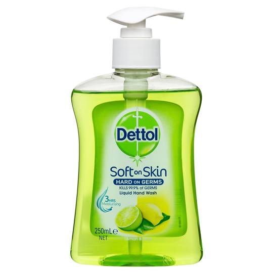 mom152736 reviewed Dettol Liquid Hand Wash Pump Lemon & Lime