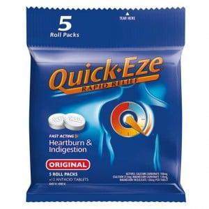 Quick Eze Heartburn & Indigestion Relief Original