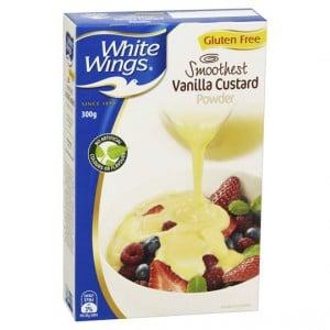 White Wings Vanilla Custard Powder
