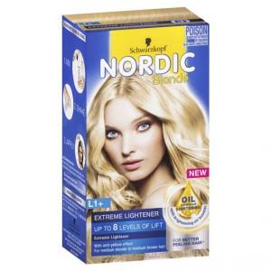 Schwarzkopf Nordic Blonde L1+ Extreme Lightening