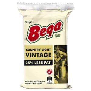 Bega Country Light Vintage Cheese