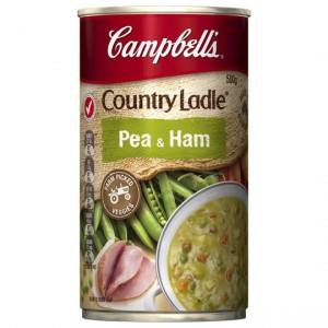 Campbell's Country Ladle Canned Soup Pea & Ham