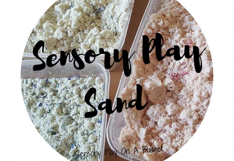 Sensory play sand