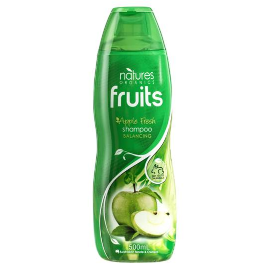 Natures Organic Shampoo Normal Apple