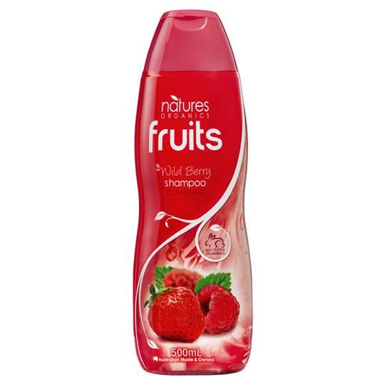 Natures Organic Shampoo Fine Limp Berry