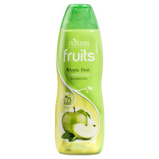 Natures Organic Conditioner Normal Apple