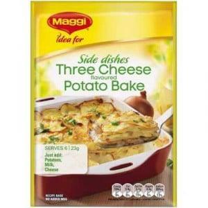Maggi Three Cheese Potato Bake Recipe Base