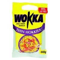 Wokka Noodles Hokkien Shelf Fresh