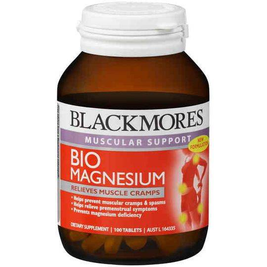 Blackmores Cramps Bio Magnesium Tablets
