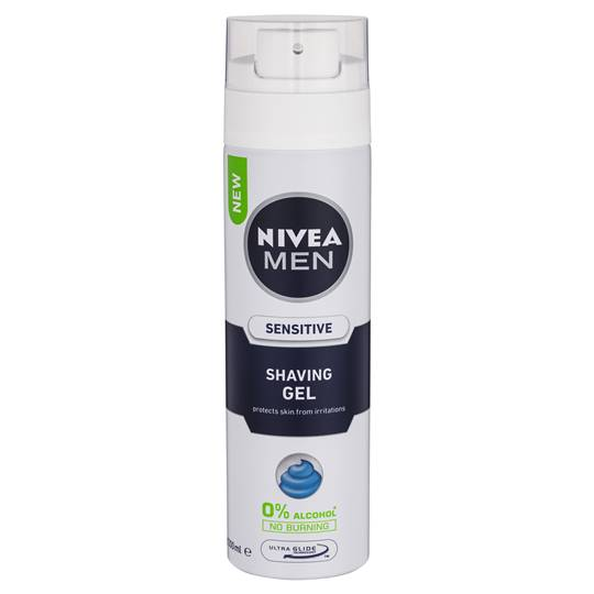 Nivea For Men Shave Gel Sensitive