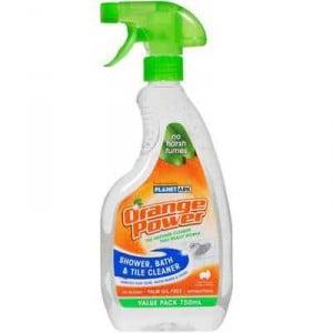 Orange Power Bathroom Cleaner Shower Bath Tile