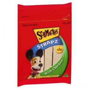 Schmackos Treat Chicken Strapz