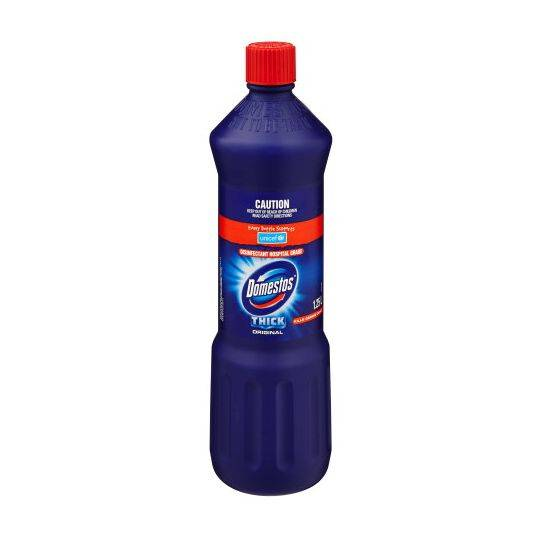 Domestos Bleach Toilet Cleaner Original Disinfectant