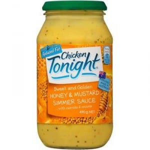 Chicken Tonight Simmer Sauce Honey Mustard Lite