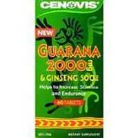 Cenovis Guarana 2000mg & Ginseng 500mg