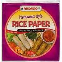 Pandaroo Ingredients Rice Paper Spring Roll