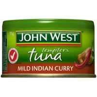 John West Tempters Tuna Mild Indian Curry