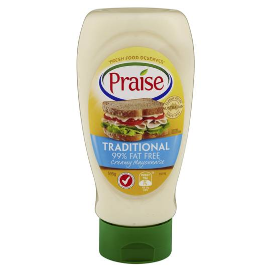 Praise 99% Fat Free Squeeze Mayonnaise