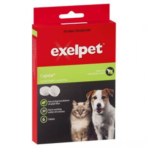 Exelpet Treatment Capstar Cat/small Dog