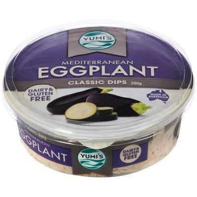 Yumi's Dip Eggplant Mediterranean