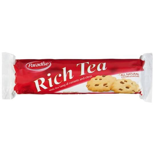 Paradise Plain Rich Tea