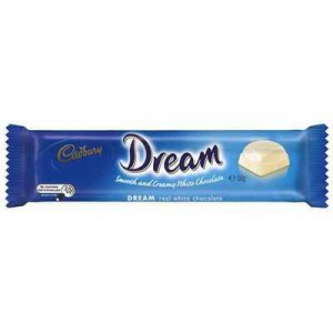 Cadbury Dream White Chocolate White Chocolate