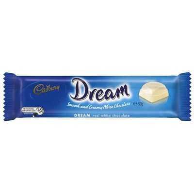 Cadbury Dream White Chocolate White Chocolate