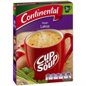 Continental Cup A Soup Asian Laksa