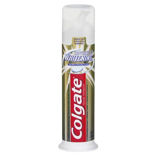 Colgate Pump Toothpaste Whitening Tartar