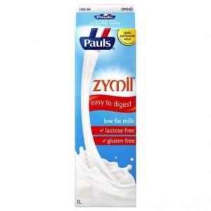 Pauls Zymil Light Lactose Free Milk