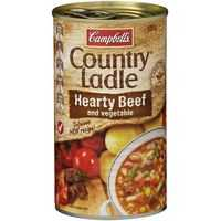 Campbell's Country Ladle Canned Soup Beef & Vegetable