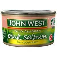 John West Salmon Pink No Added Salt