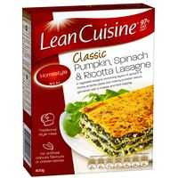 Lean Cuisine Large Serve Lasagne Pumpkin S/nach Ricotta