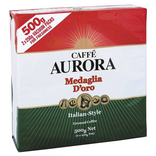 Aurora Italian Style Ground Coffee