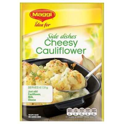 Maggi Cheesy Cauliflower Recipe Base