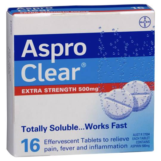Aspro Clear Soluble Extra Strength