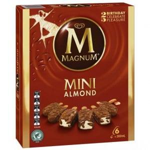 Streets Magnum Mini Ice Cream Almond