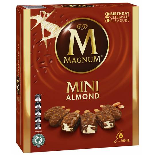 Streets Magnum Mini Ice Cream Almond