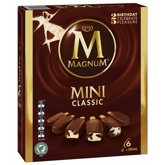 Streets Magnum Mini Ice Cream Classic